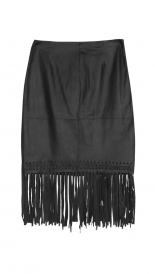 KNEE LENGTH - FRINGE JACKSON SKIRT