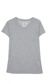LOOSE FIT V NECK TEE