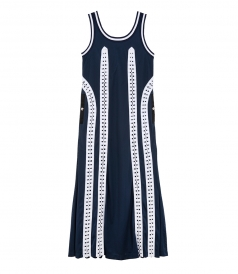 LONG FLIGHT SUIT TANK DRESS