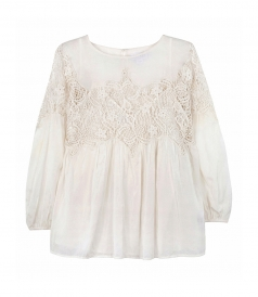 CLOTHES - TUNIC WITH LACE DETAILS