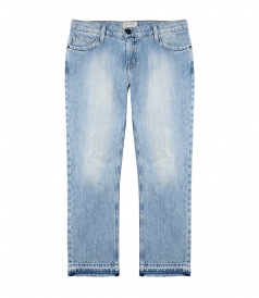 CURRENT/ ELLIOTT - THE CROPPED STRAIGHT JEAN