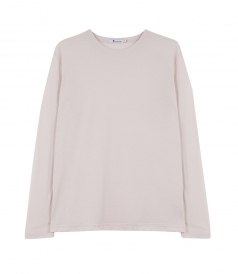 CLOTHES - LIGHTWEIGHT COTTON POLY TISSUE JERSEY L/S TEE