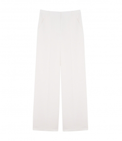 CLOTHES - POLY CREPE WIDE LEG TROUSER