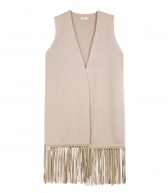 CLOTHES - LUXE VEST WITH FRINGE