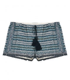 SALES - FARO EMBROIDERED PIA SHORTS