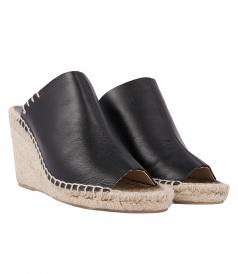 SHOES - MULE WEDGE