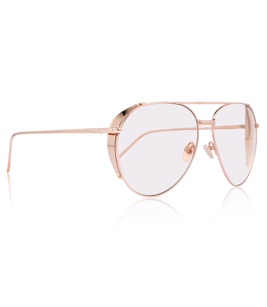 0446a9fe817c LINDA FARROW 426 C3 AVIATOR SUNGLASSES - SUNGLASSES    Soho Soho