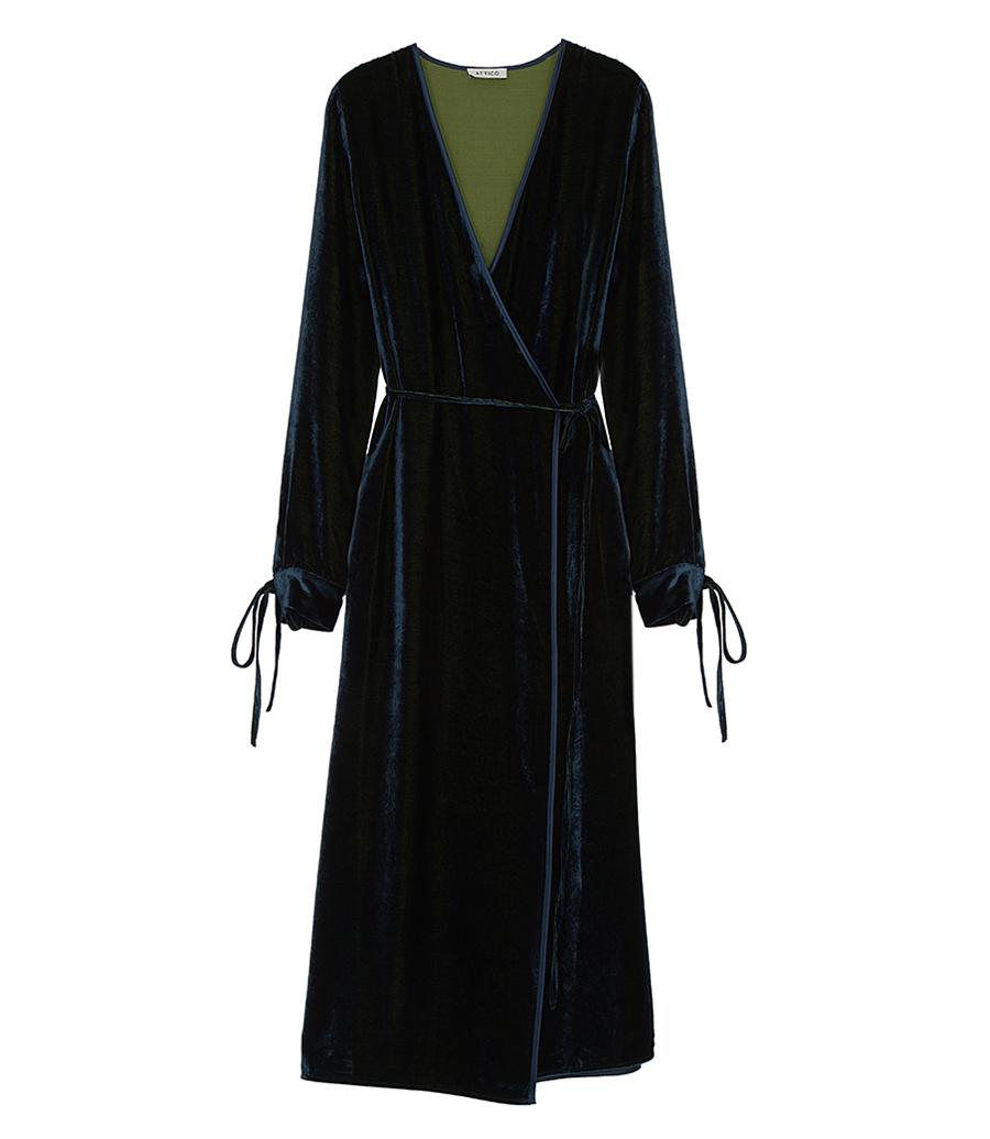 Octane Velvet Robe Dress Night Soho Soho