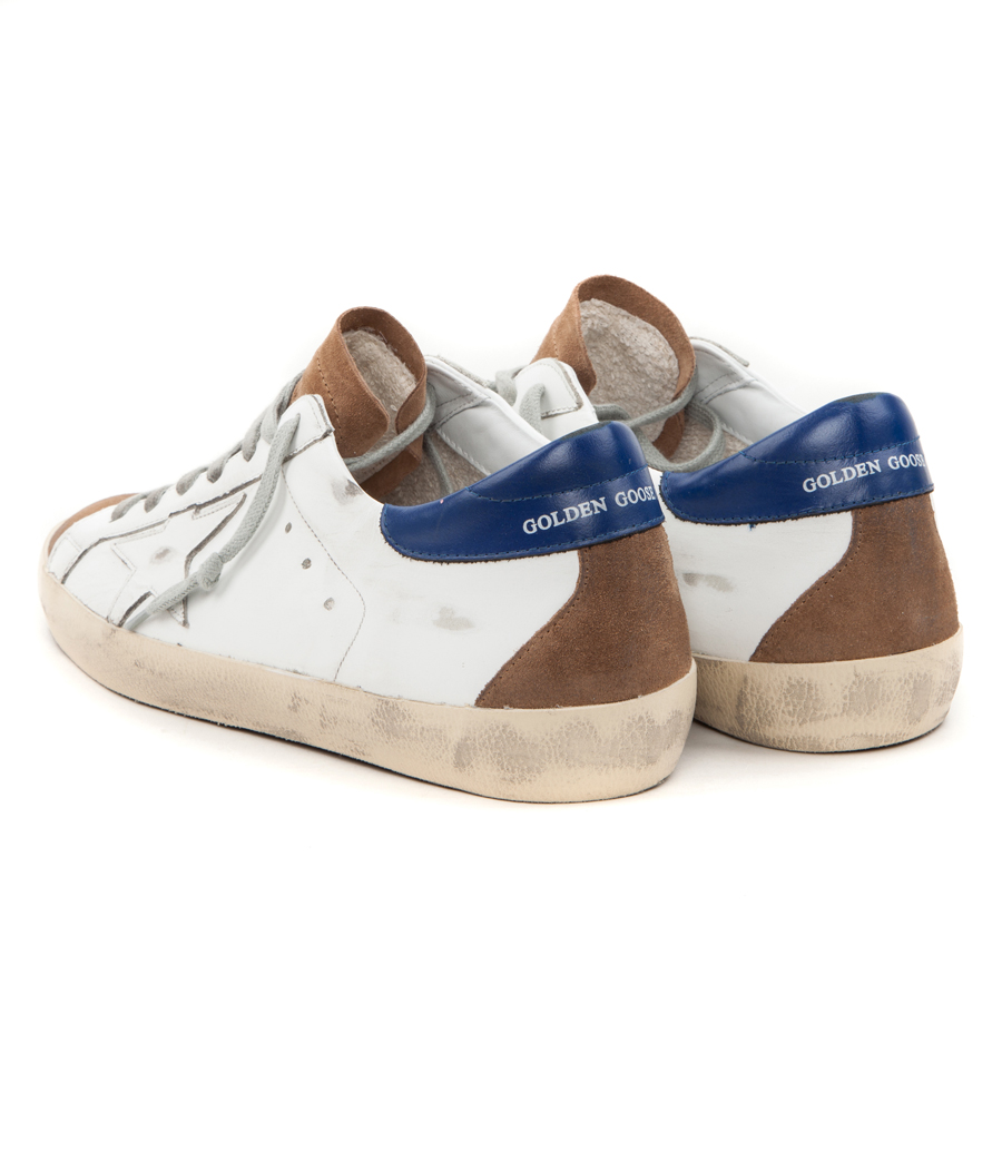 c9ac03ab3c7b7 SUPERSTAR SNEAKERS IN BLUE SUEDE · GOLDEN GOOSE DELUXE BRAND