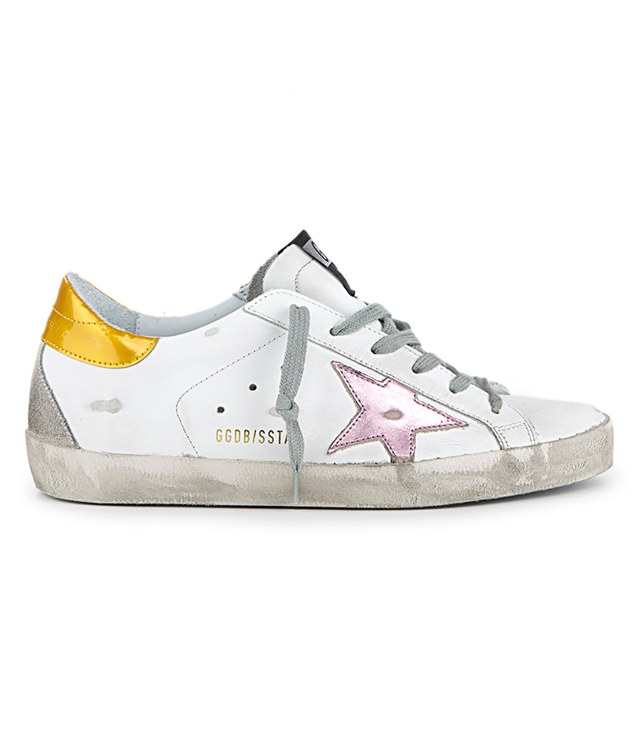 golden goose pink and gold