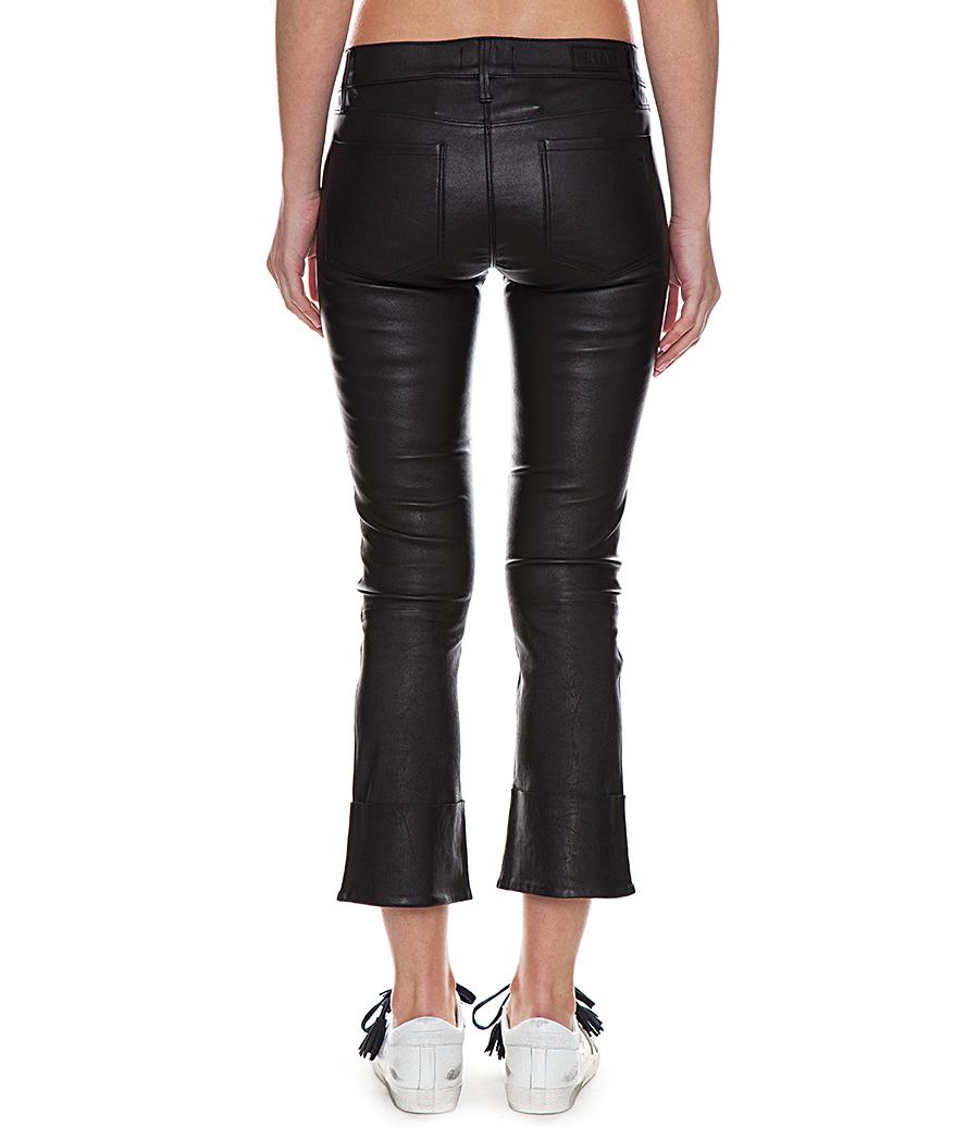 Duchess Woman cuffed flared trousers - Black Rta 3GoLQ