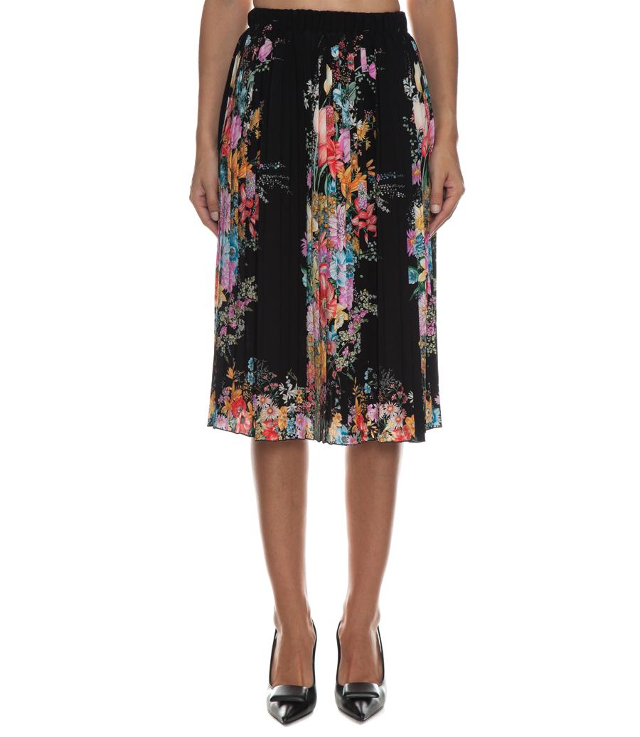 floral pleated skirt skirts soho soho