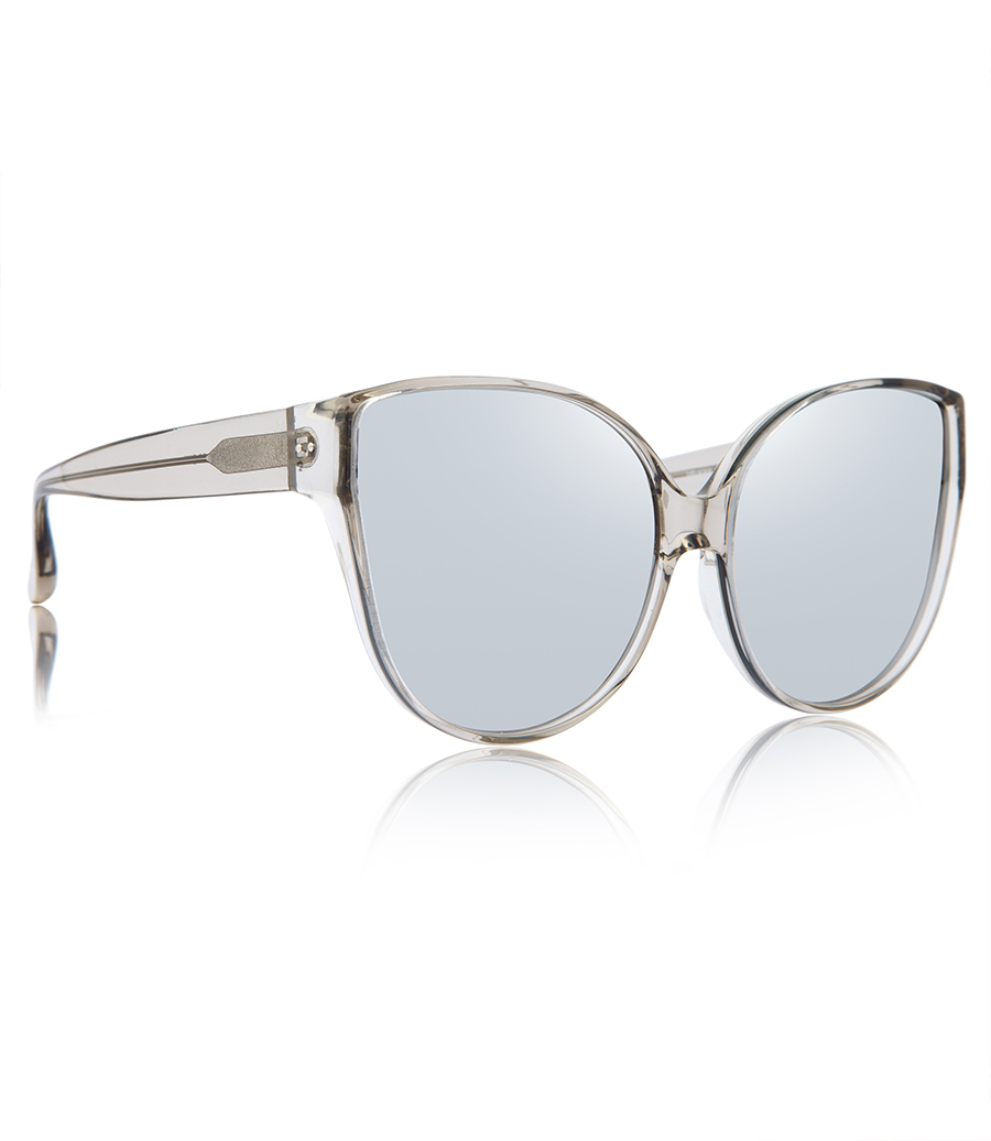 d24f012b807d OVERSIZED CAT-EYE TRANSPARENT SUNGLASSES - SUNGLASSES