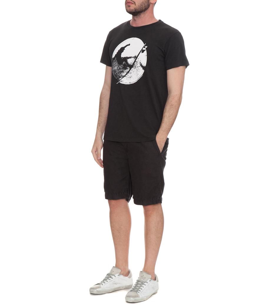 Back Hack Graphic Print T Shirt Crew Neck Soho Soho