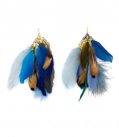 FEATHERS EARRINGS 02
