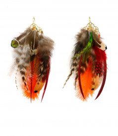 FEATHERS EARRINGS 03