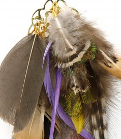 FEATHERS EARRINGS 05