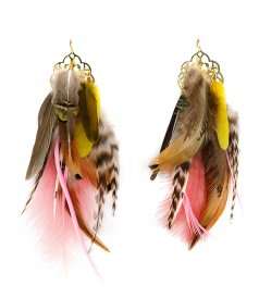 ACCESSORIES - FEATHERS EARRINGS 01