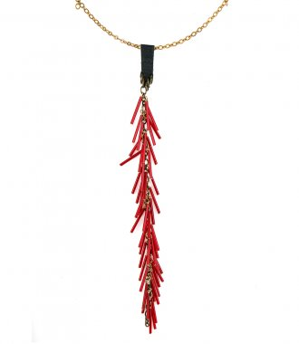 FEATHER COLLECTION FOR SOHO-SOHO - GLASS TUBE NECKLACE 03