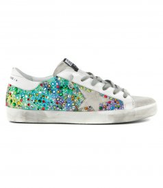 GOLDEN GOOSE  - MULTICOLOR STONE SUPERSTAR SNEAKERS