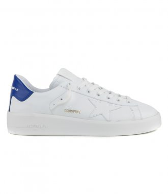 GOLDEN GOOSE  - PURE STAR LEATHER SNEAKERS